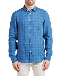 The Academy Brand - Hamilton Check Shirt - Lyst