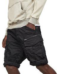 G-Star RAW Rovic Zip Relaxed 1\2 Short - Black