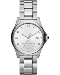 Marc By Marc Jacobs - Henry Silver-tone Watch - Lyst