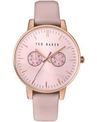 Ted Baker - Liz Multi Dial Watch - Lyst