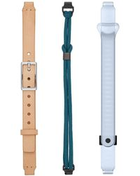 Misfit - Ray Nature 3-pack With Nude Leather Sport Bands - Lyst