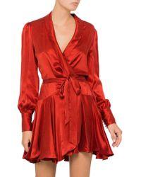 Zimmermann | Wrap Mini Dress | Lyst