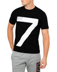 Emporio Armani - Ea7 T-shirt - Lyst