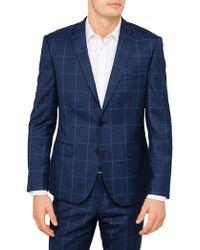 Paul Costelloe - Wool Check Jacket - Lyst