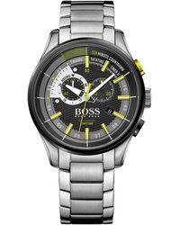 BOSS Black - Boss Mens Yacht Chrono S/s Bracelet - Lyst