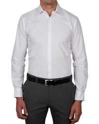 Geoffrey Beene - Otis Ridge Ottoman Body Fit Shirt - Lyst
