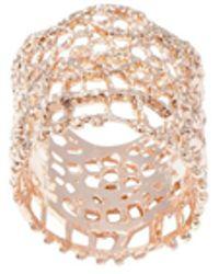 Aurelie Bidermann Dentelle Ring - Multicolour