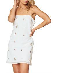 The East Order - Camellia Mini Dress - Lyst