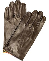 Paul Smith - Classic Leather Glove - Lyst