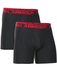 Under Armour - O-series 6in Boxerjock 2pk Trunk - Lyst