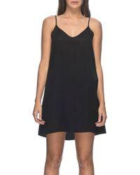Neuw - V Back Dress - Lyst