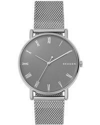 Skagen - Signatur Silver Watch - Lyst