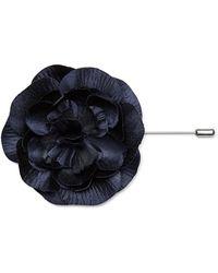Calibre Ny Rose Flower Pin - Blue