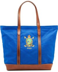 Polo Ralph Lauren - Embroidered Crest Tote - Lyst