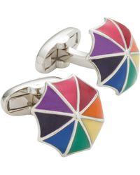 Paul Smith 3d Rainbow Umbrella - Multicolour