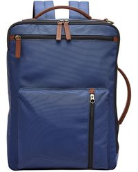 Fossil Buckner Blue Backpack
