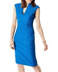 Karen Millen - Bodycon Pencil Dress - Lyst