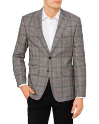 Ted Baker - Glen Check Jacket - Lyst