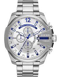 DIESEL - Watches S Mega Chief Stainless-steel Watch - Lyst