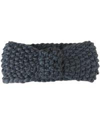Morgan Taylor - Chunky Knit Knot Headband - Lyst