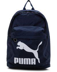 PUMA - Originals Backpack - Lyst