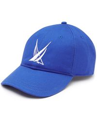 Nautica Blue Sail Big Logo Baseball Cap