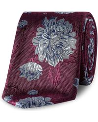 Ted Baker - Large Floral Tie - Lyst