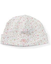 Polo Ralph Lauren   Floral-print Cotton Hat(one Size)   Lyst