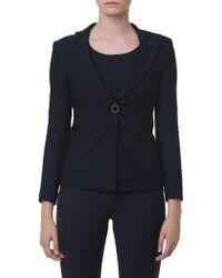 Emporio Armani - Jersey Jacket - Lyst