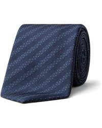 CALVIN KLEIN 205W39NYC - Spotty Stripe Tie - Lyst