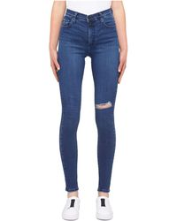 Nobody Denim - Siren Super High Rise Skinny Ankle - Lyst