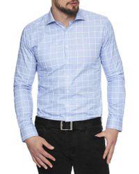 Geoffrey Beene | Bladensburg Check Body Fit Shirt | Lyst
