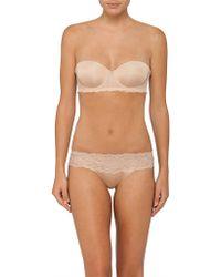 Calvin Klein - Seductive Comfort W Lace Strapless Lift - Lyst