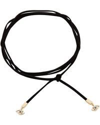 Rebecca Minkoff - Evil Eye Leather Wrap Choker/wrap Bracelet - Lyst