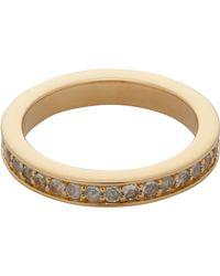 Astley Clarke - Rainbow Moonstone Infinity Ring - Lyst