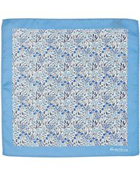 Hardy Amies - Floral Pocket Square - Lyst