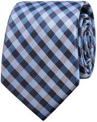 Geoffrey Beene - Small Check Tie - Lyst