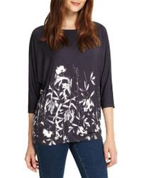 Phase Eight - Mira Floral Print Top - Lyst
