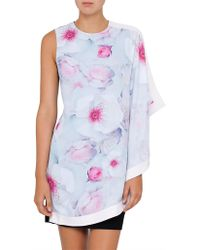 Ted Baker - Agostia Chelsea Double Layer Dress - Lyst
