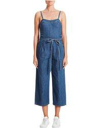 AG Jeans - Gisele Denim Jumpsuit - Lyst