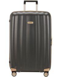Samsonite Lite Cube Prime 82cm Large Suitcase - Grey