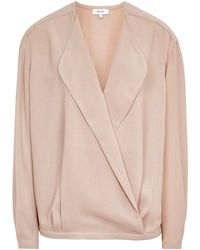 Reiss - Eleanora-long Sleeve Blouse - Lyst