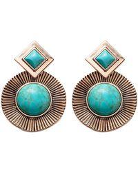 Samantha Wills Flamenco Affairs Earrings - Blue
