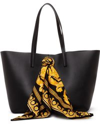 Versace - Shopping Bag With Barocco Foulard - Lyst