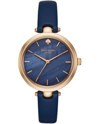 Kate Spade - Kate Spade Holland Blue Watch - Lyst