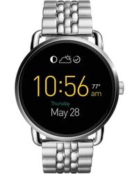 Fossil - Q Wander Touchscreen Stainless Steel Smartwatch - Lyst
