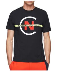 Nautica Short Sleeve Competition Tee - Blue
