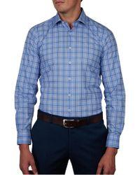 Geoffrey Beene - Walhalla Check Slim Fit Shirt - Lyst