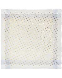 5b310698bf Rose Foil Windowpane Challis - Multicolour