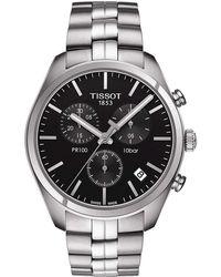 Tissot - Silver Watch - Lyst